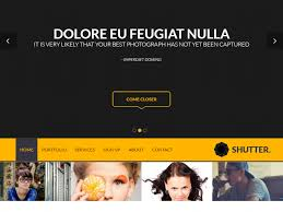 top free and premium photography templates free website templates