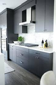 Flat Front Kitchen Cabinet Doors Grey Kitchen Cabinet Gray Flat Front Kitchen Cabinets