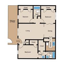 3 floor plan floor plans creole yorktown luxury apartments living in the