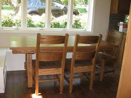 schwartz table handcrafted kitchen nook tables from erik organic