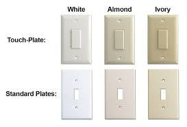 light almond switch plate covers touch plate lighting help guides wiring diagrams low volt system faq