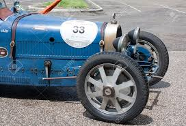 vintage bugatti race car 17 may 2013 sansepolcro italy an old racing car bugatti t