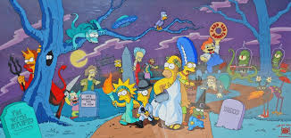 Simpsons Treehouse Of Horror I - simpson limited edition pan cel