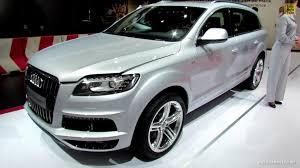 Audi Q7 Specs - 2012 audi q7 tdi quattro s line exterior and interior walkaround