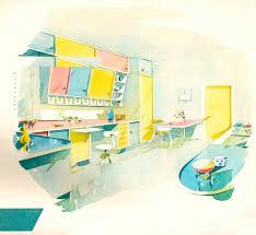 1960 Kitchen by Design Is Fine History Is Mine U2014 Pastel Resopal Formica Kitchen