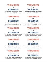 Words Of Wisdom Cards Thought Vs Feelings The Joy Of Encouragement