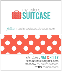 Bp Business Card Custom Luggage Tags And Business Card Holder My Sister U0027s