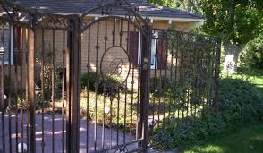 fence wrought iron fence styles compelling wrought iron fence
