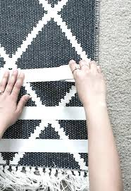 Stop Area Rug From Sliding On Carpet How To Keep A Rug From Moving On Tile Area Rug Designs