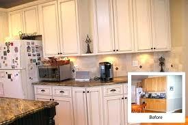 kitchen cabinet resurfacing ideas reface kitchen cabinets before after kitchen cabinet resurfacing