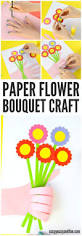 handprint flower bouquet craft mother u0027s day idea easy peasy