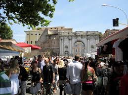 auto porta portese porta portese flea market il segno in rome