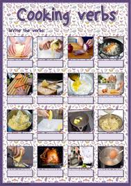 cooking vocabulary interactive and downloadable worksheet you can