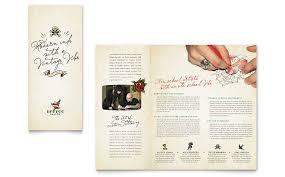 body art u0026 tattoo artist brochure template word u0026 publisher