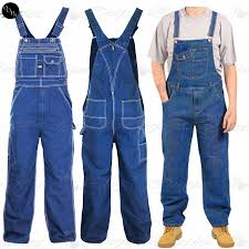 mens blue jumpsuit mens work overall fit womens pinafore denim