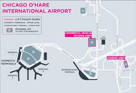 Map Of Chicago Airport The Ultimate Airport Guide For Rideshare Drivers Chicago U2013 Gridwise