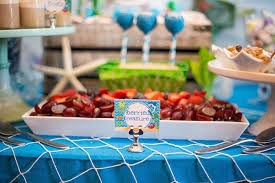 the sea party ideas kara s party ideas bubbly the sea birthday party kara s