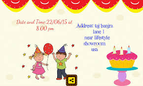 card invitation sles birthday invitation cards modern design