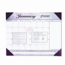 house of doolittle recycled economy 14 month academic desk pad