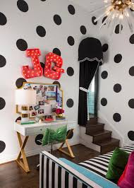 Black And White Polka Dot Curtains Rooms Viewer Hgtv