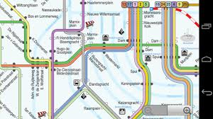 Metro Moscow Map Pdf by Amsterdam Tram And Subway Android Apps On Google Play