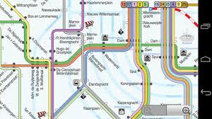 Budapest Metro Map by Map Of Amsterdam Tram Stations Lines Urbanrailnet Amsterdam Tram
