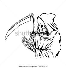 death grim reaper drawing photo 2 real photo pictures images