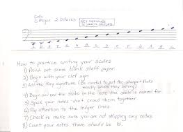 writing paper lines dempsey eileen orchestra writing scales cello finger chart