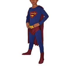 Body Halloween Costumes Children U0027s Superman Man Steel Lycra Body Fancy Dress