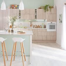 cuisine pratique et facile sol vinyle dans la cuisine