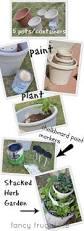 Diy Herb Garden Box by Top 25 Best Potted Herb Gardens Ideas On Pinterest Strawberry