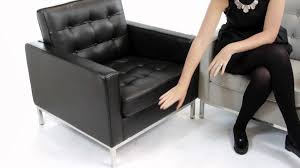 replica florence knoll armchair from matt blatt furniture youtube