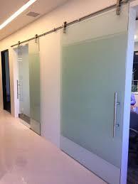 Tempered Glass Closet Doors Home Barn Doors Sliding Glass Doors Room Dividers Los