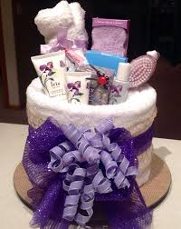 towel cakes spa towel cake filled with luxury pering products