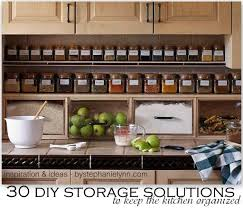 Kitchen Space Saver Ideas by 30 Diy Storage Solutions To Keep The Kitchen Organized Saturday