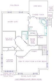 Breeze House Floor Plan Luxury Beach Home New Floors New Tvs Homeaway Emerald