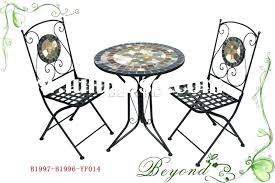 Tesco Bistro Chairs Mosaic Bistro Sets Uk Mosaic Tile Top Bistro Table And Chairs Set
