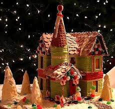 free gingerbread house patterns u0026 templates holidailys holidays