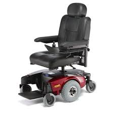 Drive Wheel Chair Invacare Pronto M 51 Mid Wheel Drive Power Chair Red