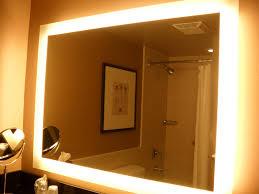 bedroom mirrors with lights bathroom lighting mirrors with lights for bathroom decoration