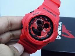 Jam Tangan Baby G Warna Merah g shock ga 300 merah jam tangan g shock warna merah