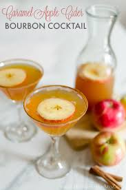 bourbon thanksgiving cocktail caramel apple cider bourbon cocktail home stories a to z