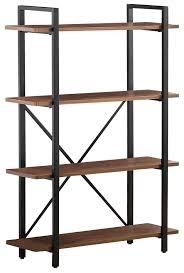Industrial Style Furniture by Coaster Bookcases Industrial Style Bookcase With 4 Shelves Dunk