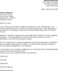 luxury cover letter for job opportunity 40 in examples of cover