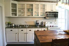 Rustic Kitchen Cabinet Ideas Quick Kitchen Makeover Would Love Ideassuggestion For Inexpensive