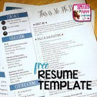 Creative Teacher Resume Templates Best 25 Teacher Resume Template Ideas On Pinterest Resume