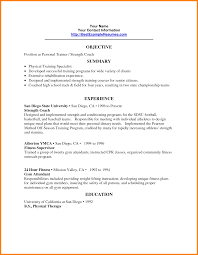 physical therapy resume samples personal resume examples personal