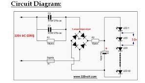 led u0027s on 220v ac grid 7 8 watts only 8 steps