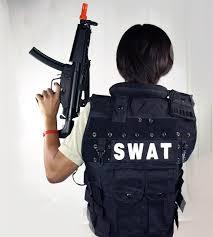 Policeman Halloween Costume Halloween Costume Men Package Swat Police Tactical Vest