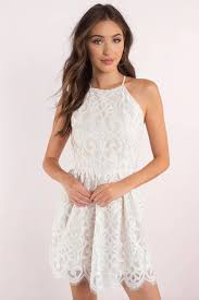 white dresses white lace dress ivory lace dress white lace dresses tobi us